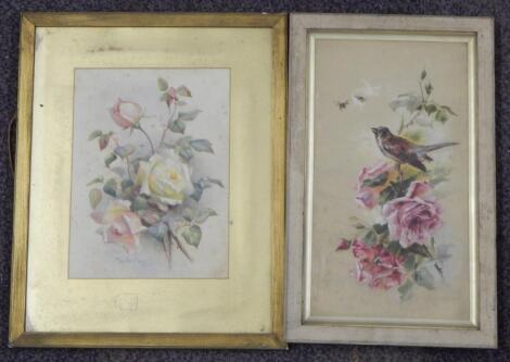 Maude Angell. Study of roses