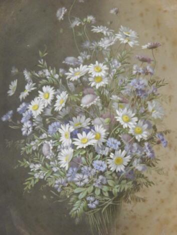 M De Long(?). Floral study
