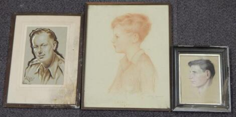 Harold Cox. Larry aged eight