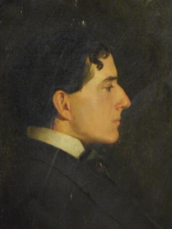 19th/20thC British School. Head and shoulders portrait of a gentleman
