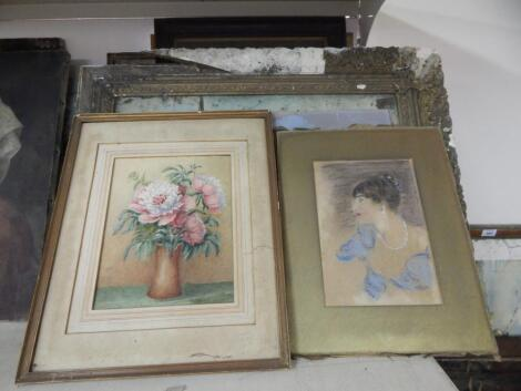 Various watercolours