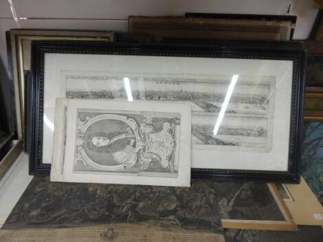 A group of various 17thC and later book plates