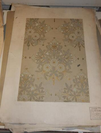 A selection of Victorian wallpaper designs