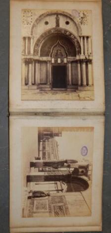 A portfolio of photographs of classical buildings