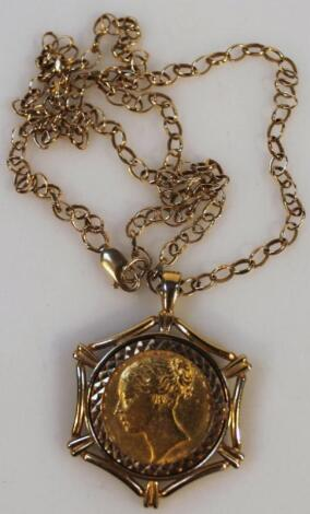 A Victorian gold full sovereign