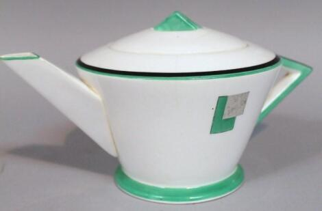 A mid-20thC Shelley Art Deco teapot