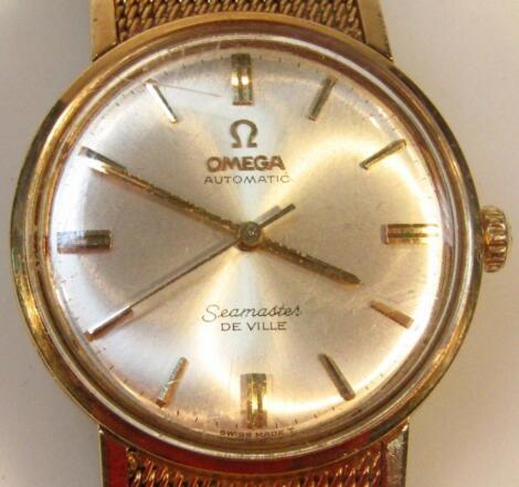A 1967 Omega Seamaster De Ville automatic gents wristwatch