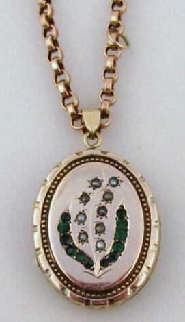 A belcher chain