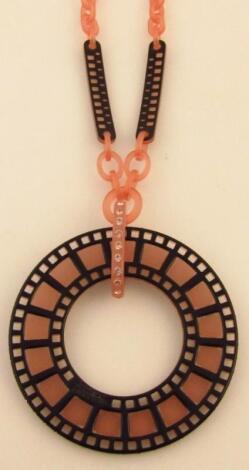 A modern Jean Paul Gaultier necklace