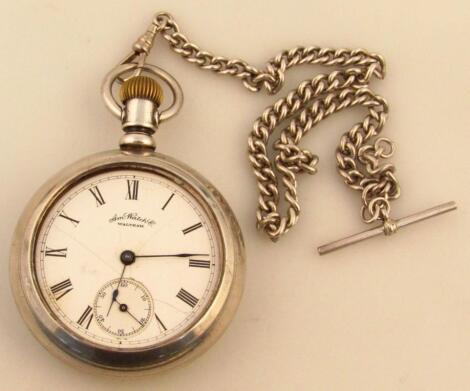 An early 20thC Albert watch chain
