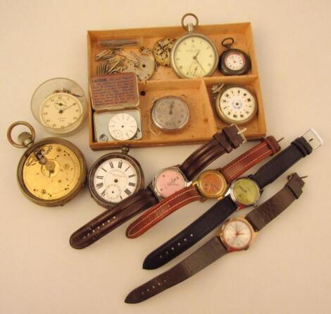 Various pocket watches