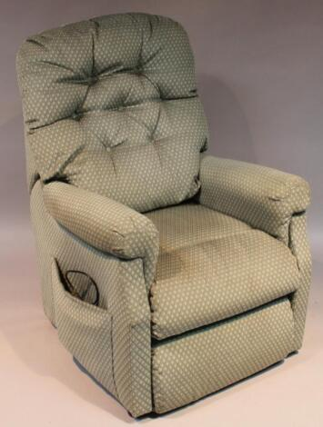 A modern electric reclining chair