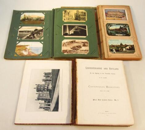 A quantity of various Lincolnshire postcards etc