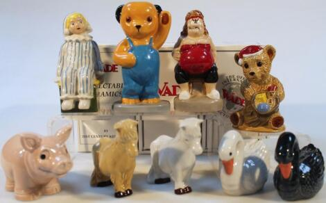 Various Wade Collectors Club and other figures