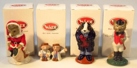Various Wade International Collectors Club and other figures