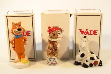 Various Wade D & G Collectables figures etc