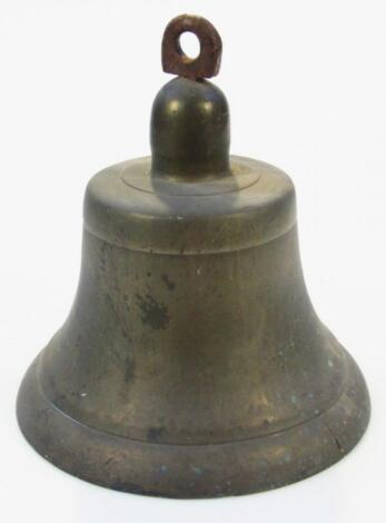 A 19thC brass ship's bell