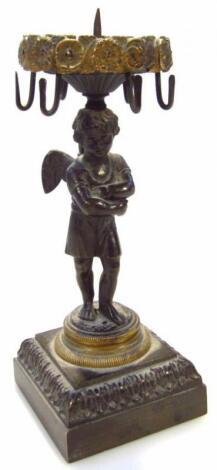A 19thC bronze statuette