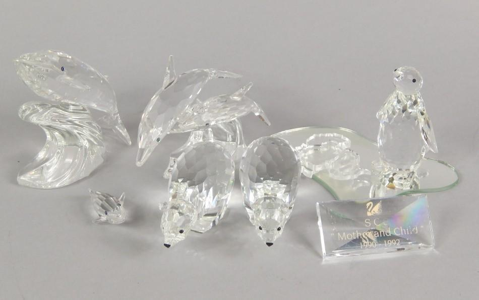 c899baa9e Lot 741 of 844: Swarovski Collectors Society figure Mother and Child  1990-19.