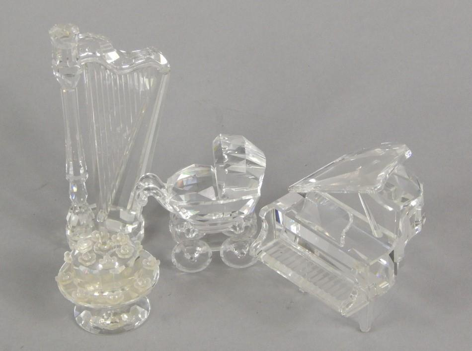 f1a638d8d Various Swarovski crystal ornaments - Price Estimate: £40 - £60 ...