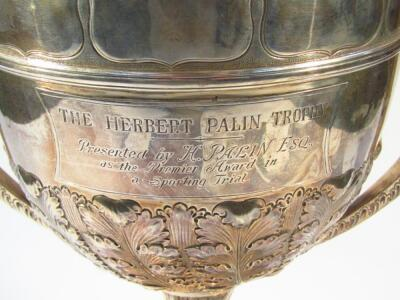 A Victorian silver trophy - 2