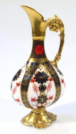 A Royal Crown Derby Old Imari pattern ewer