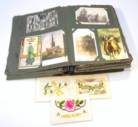 Various early 20thC postcards