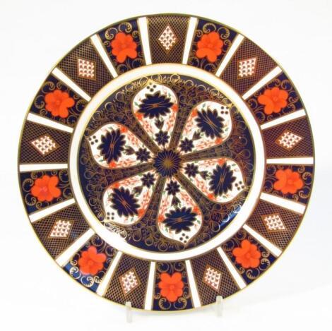 A Royal Crown Derby Imari pattern dinner plate