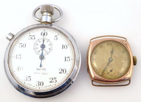 A mid-20thC wristwatch