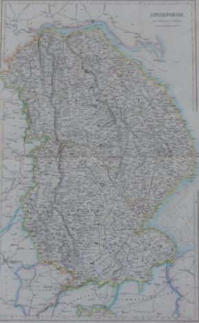 A 19thC map of Lincolnshire