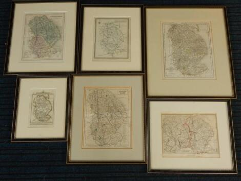 Various 19thC and later maps of Lincolnshire