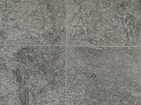A large quantity of reprinted ordnance maps