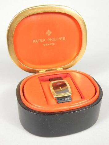 A Patek Philippe Gondola gentleman's wristwatch