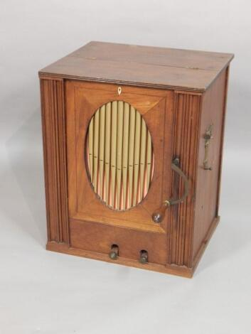 A 19th barrel organ