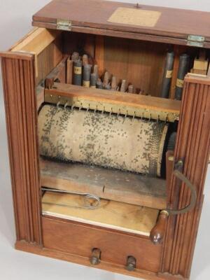 A 19th barrel organ - 2
