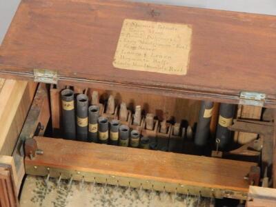A 19th barrel organ - 3