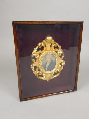 A 19thC miniature print
