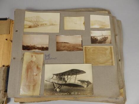 A Royal Flying Corp World War I period album