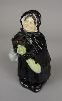 A Royal Doulton figure of Sairey Gamp HN558