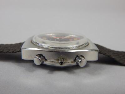 A Romer Stingray Chrono retro style wristwatch - 3
