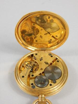 An 18ct gold pocket watch - 2
