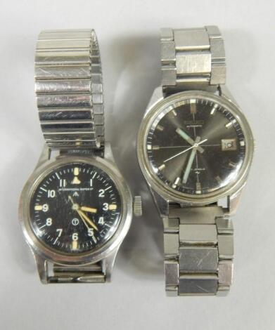 Two gent's wristwatches