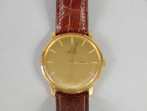 An Omega Gentleman's wristwatch