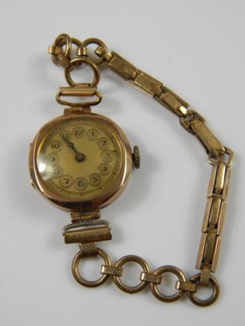 A ladies wristwatch