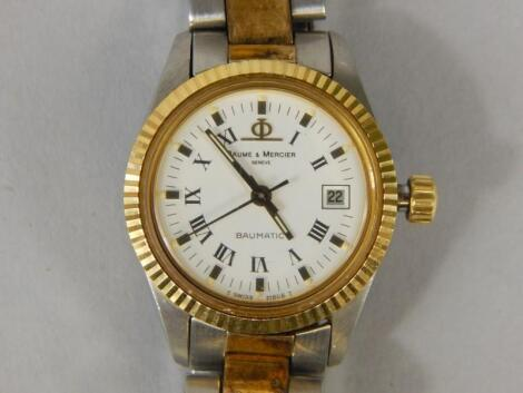 A Baume and Mercier ladies wristwatch