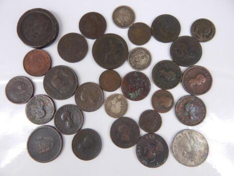 A quantity of British coinage