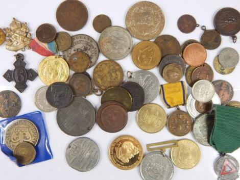 A large quantity of tokens