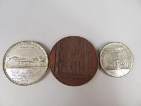Three Commemorative Medallions