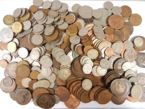 A large collection of British coins