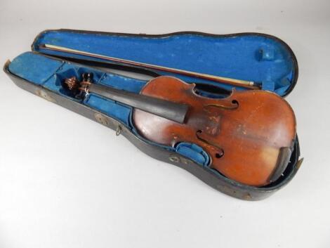 A Hawkes & Son Concert violin